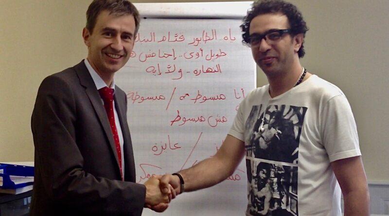 محمد مجاهد لـ (سويسرا والعرب)(1-2):                                                 مدرسة (يلا عربي) اعتمدتها الخارجية السويسرية وتدرس الدبلوماسيين